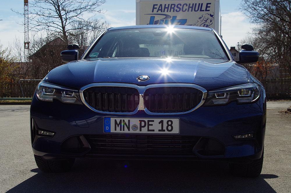 Einer der BMWs