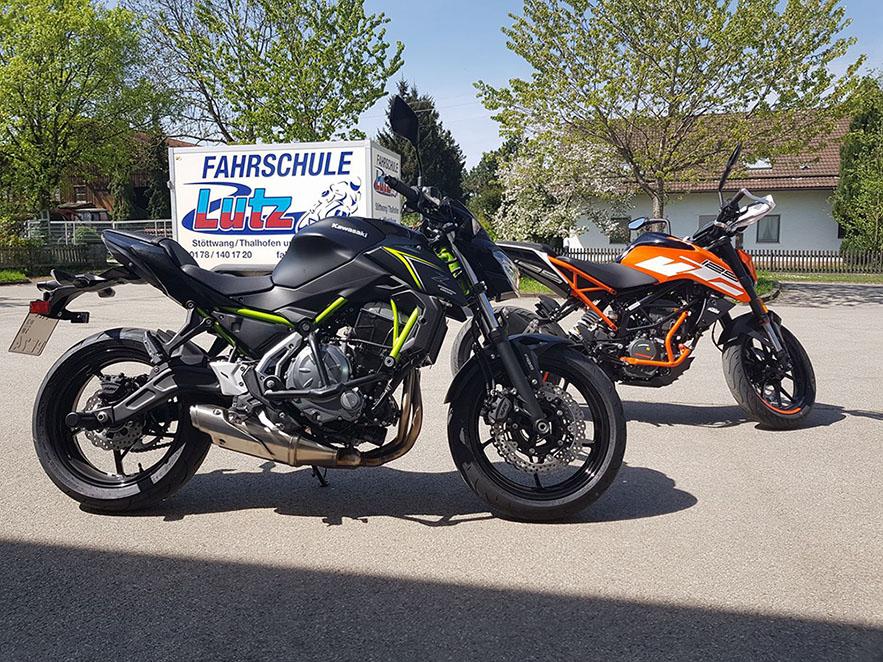 Unsere Motorräder